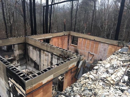 Carrie Compton's childhood home was destroyed in the 2016 Gatlinburg wildfires. Compton will graduate from the University of Tennessee-Knoxville with a degree in interior architecture this week.