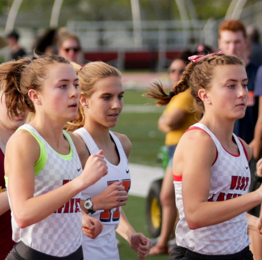 West Lafayette twin sisters Ellie and Emma Tate establishing separate identities on track