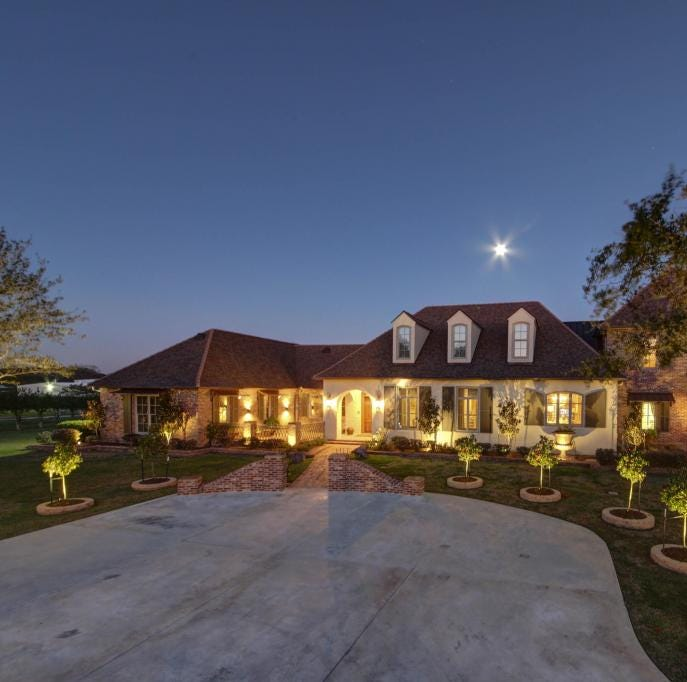 Youngsville mansion has everything from a pond to a separate 2,000 square foot apartment