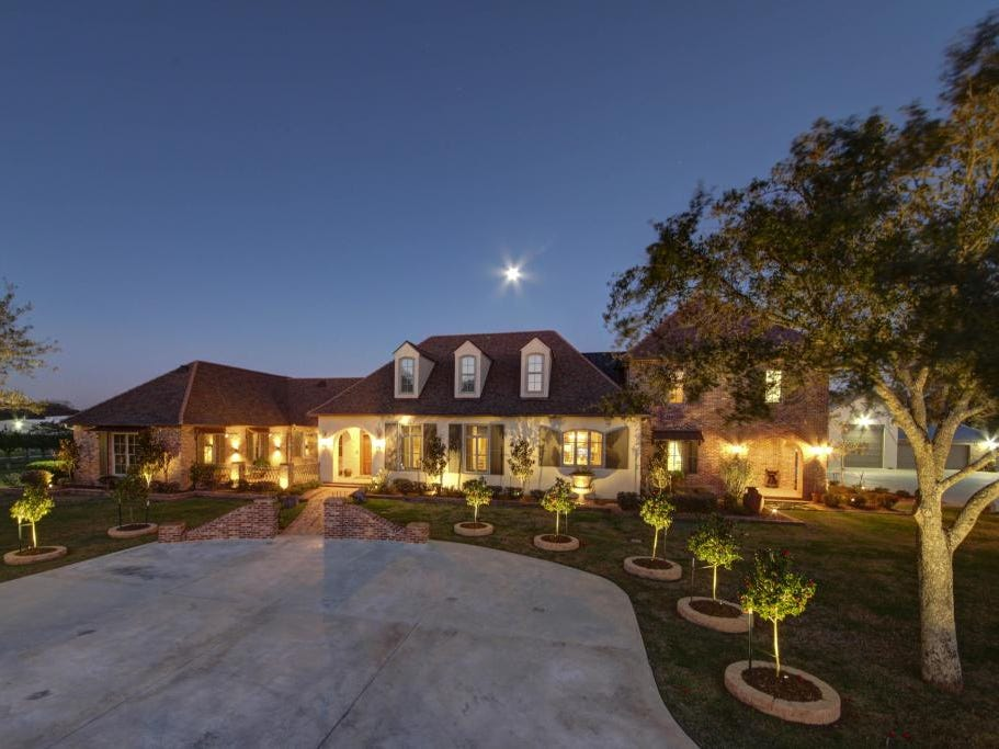 This $4 million Youngsville mansion sits on almost 10 acres and has its own pond and a separate apartment.