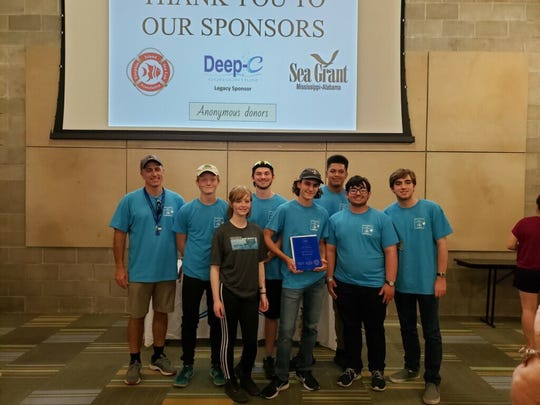 David Thibodeaux STEM Magnet Academy students competed in both RANGER and SCOUT levels in the Seventh Annual Northern Gulf Coast Regional Marine Advanced Technology Education Robot-Operated Vehicles (MATE ROV) Competition at the Dauphin Island Sea Lab in Dauphin Island, Alabama.