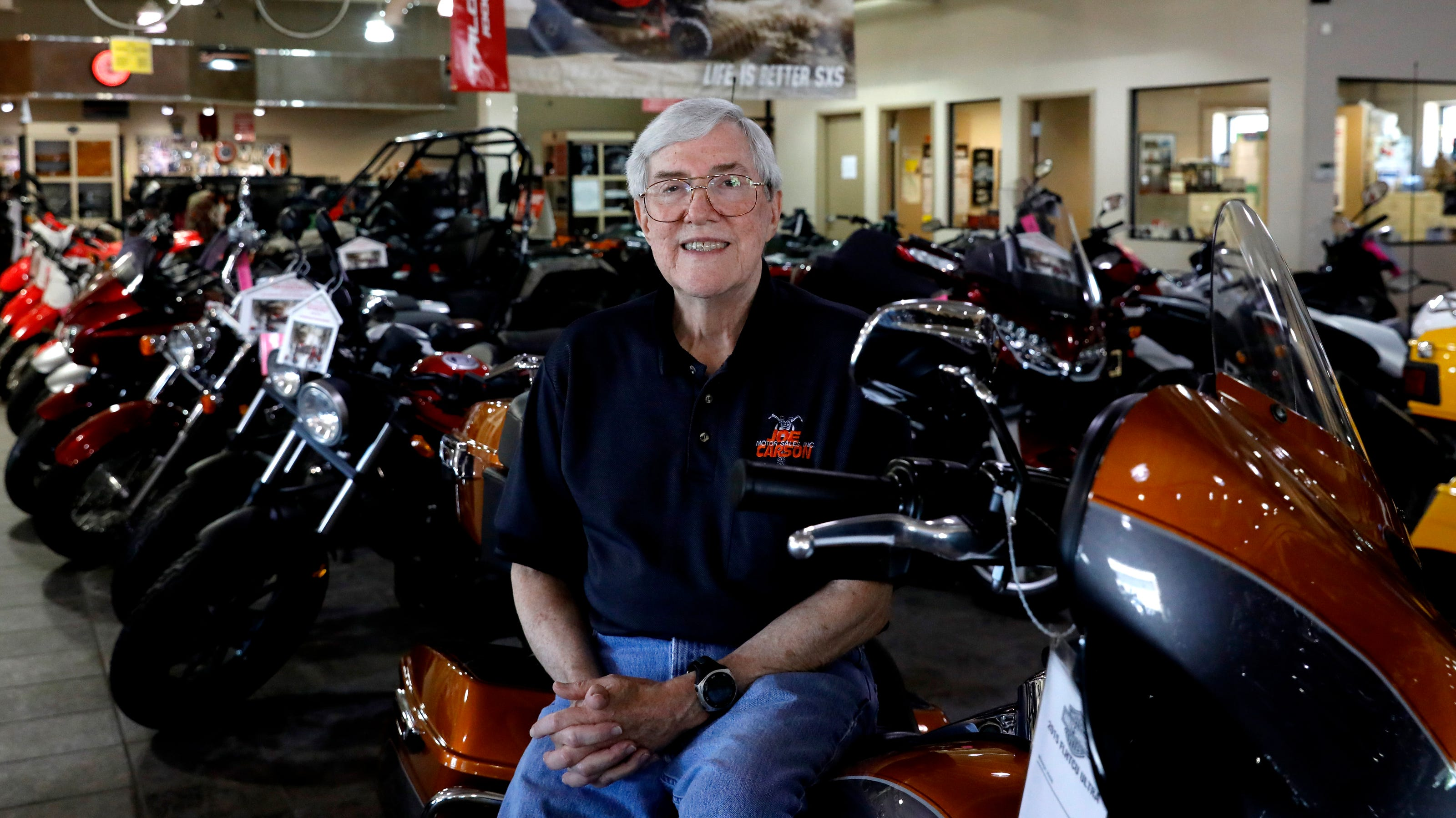 Joe Carson Motor Sales Owner Celebrates Store S 50th Anniversary