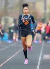 Brighton's Brooke Gray leads the county in the 100 and 200.