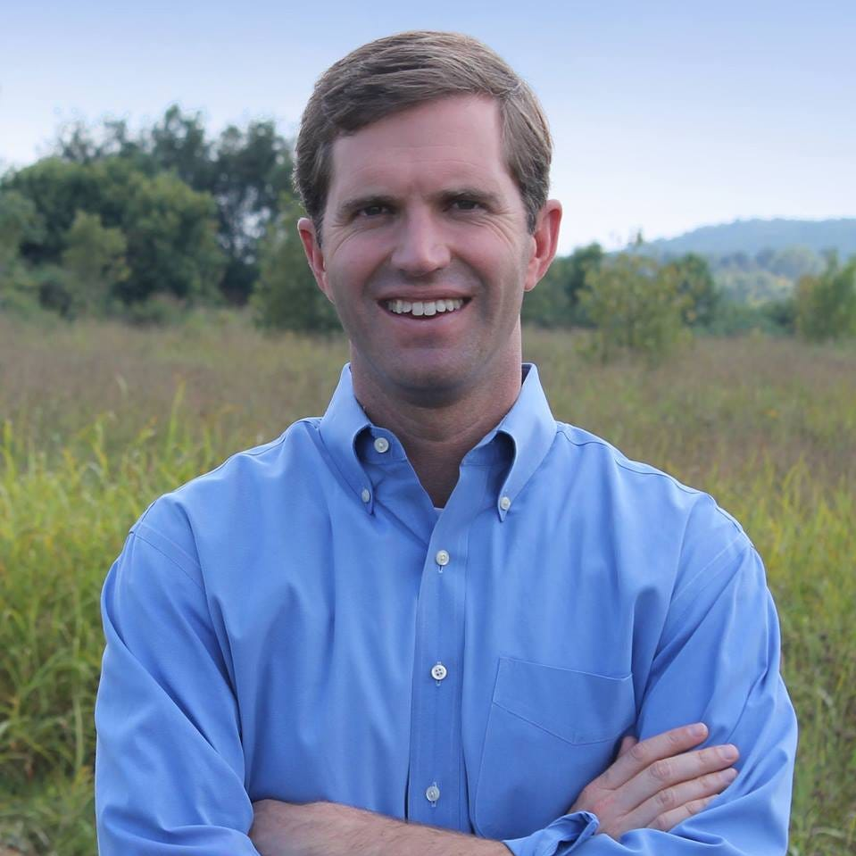 Kentucky Attorney General Andy Beshear is a Democratic candidate for governor.