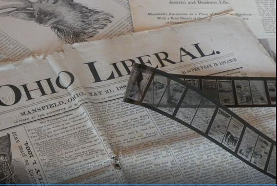 Seventeen local newspapers dating from 1823 to 1922 have been digitized and by July will be available for history buffs online at no charge on the Mansfield-Richland County Public Library website.