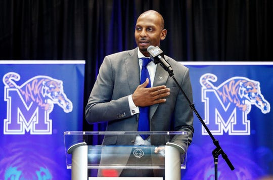 Penny Hardaway was introduced as Memphis men's basketball coach in March 2018.