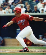 Future Hall of Fame slugger Albert Pujols played in three regular-season games for the Memphis Redbirds in 2000.