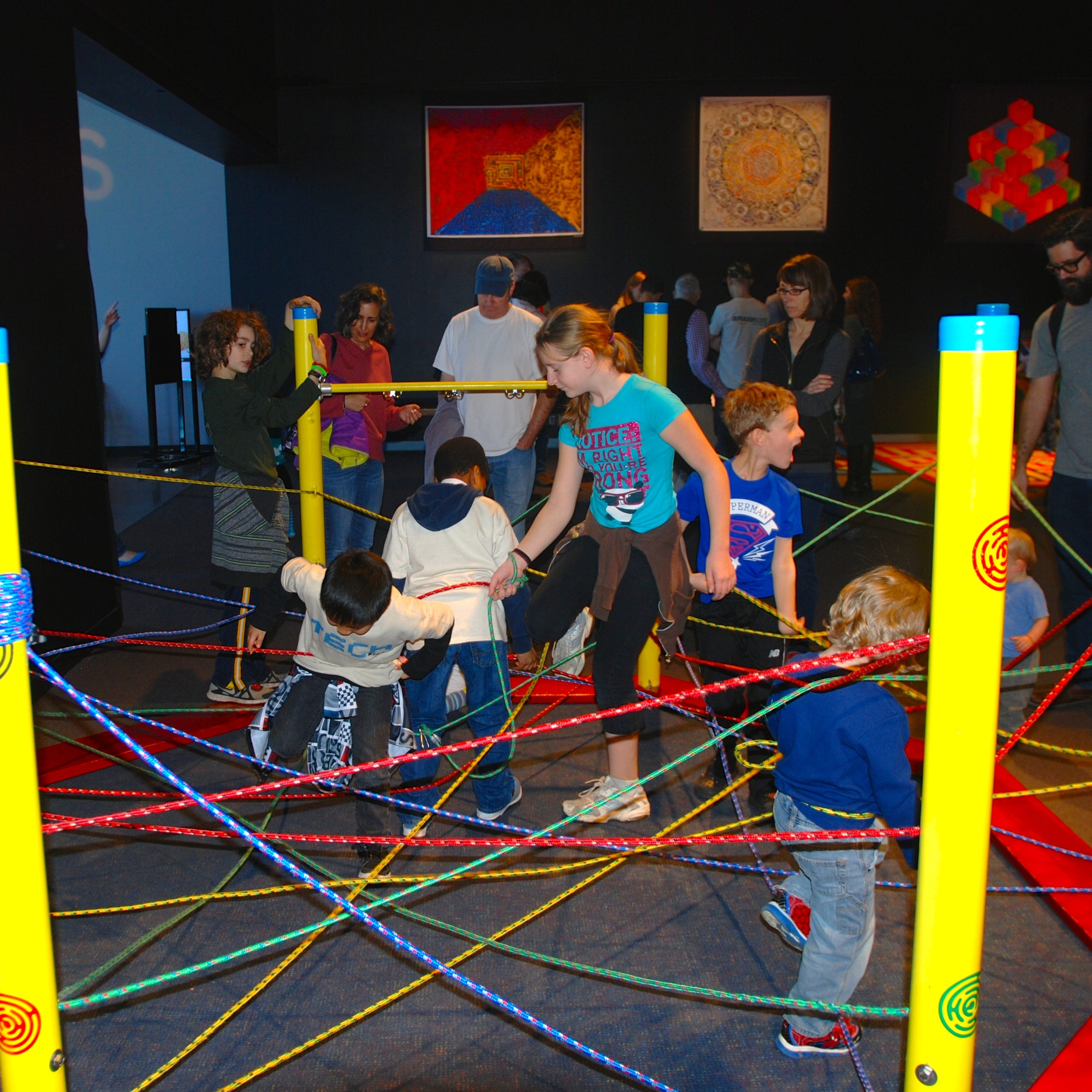 Families will be able to navigate their way through mazes at Discovery World's summer exhibit