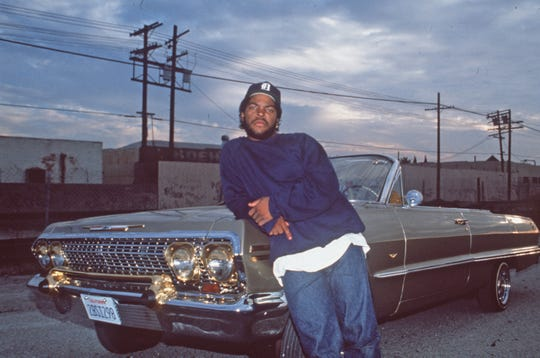 "Rapper Ice Cube made his big-screen debut in John Singleton's 1991 directorial debut, ""Boyz N the Hood."""