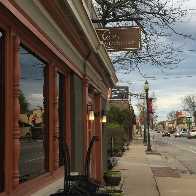 The Italian restaurant Ca'Lucchenzo opens May 15 at 6030 W. North Ave. in Wauwatosa. It will specialize in house-made pasta. The full bar will include Italian wines.