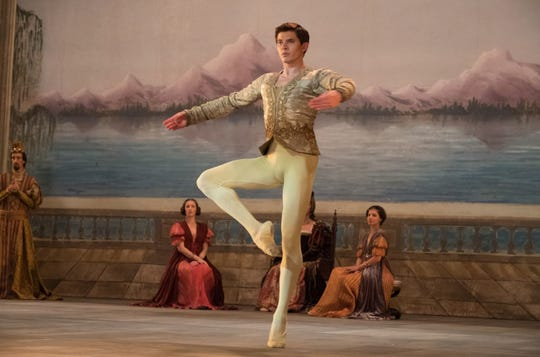 "Oleg Ivenko channels the young Russian dancer Rudolf Nureyev in ""The White Crow."""