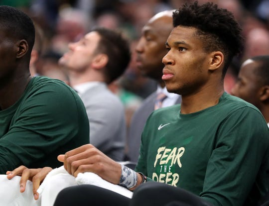 With Giannis Antetokounmpo on the bench in foul trouble early in the second half, the Bucks reserves picked up the slack against the Boston Celtics in Game 4 on Monday night.