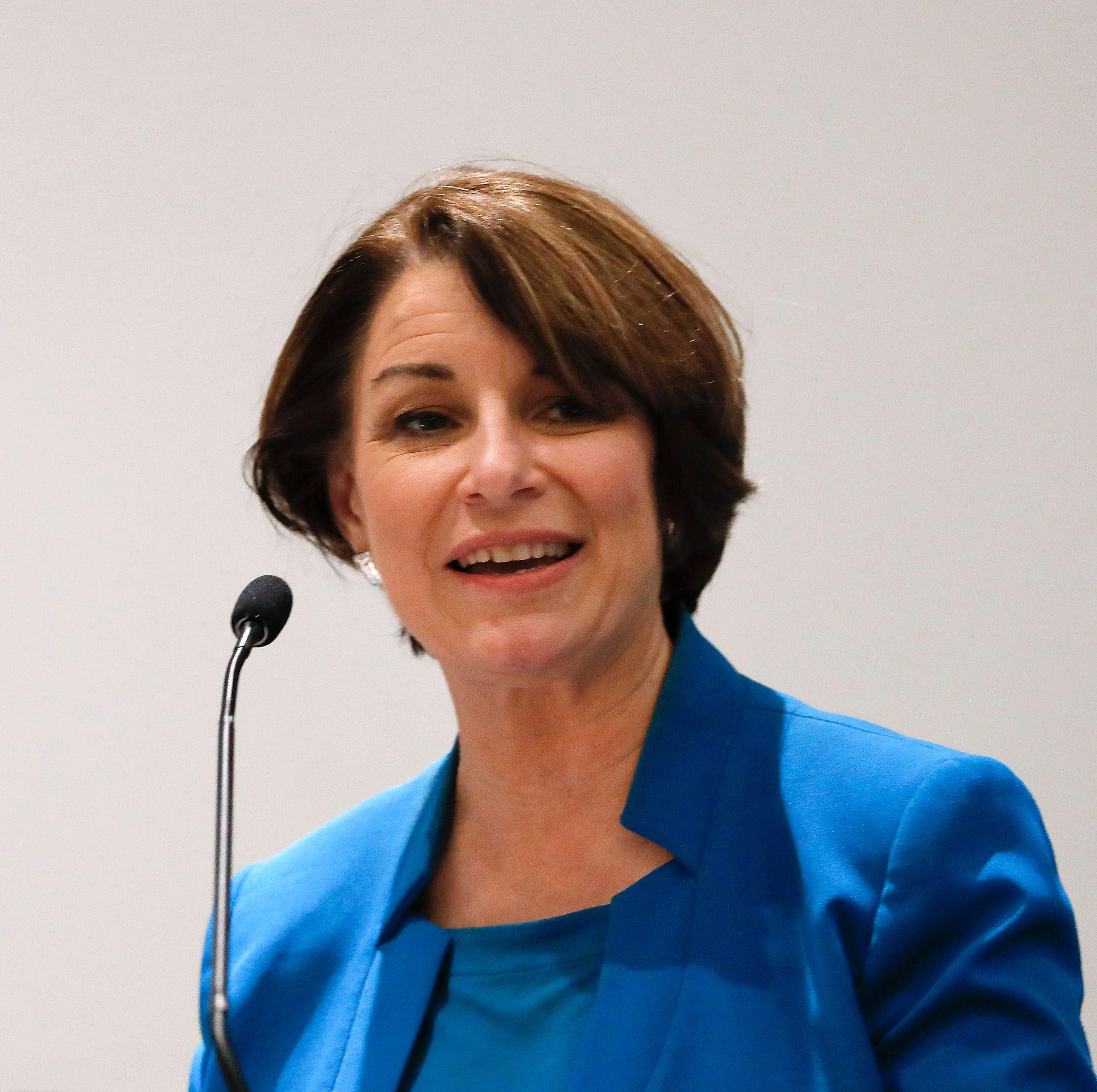 Democratic U.S. Sen. Amy Klobuchar of Minnesota.