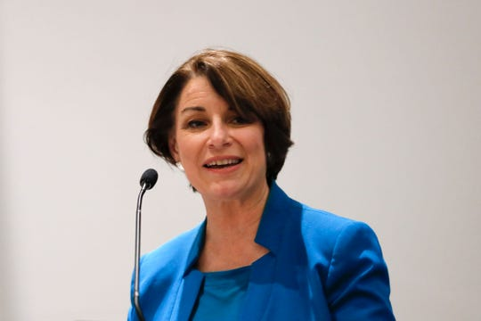 Democratic U.S. Sen. Amy Klobuchar of Minnesota.