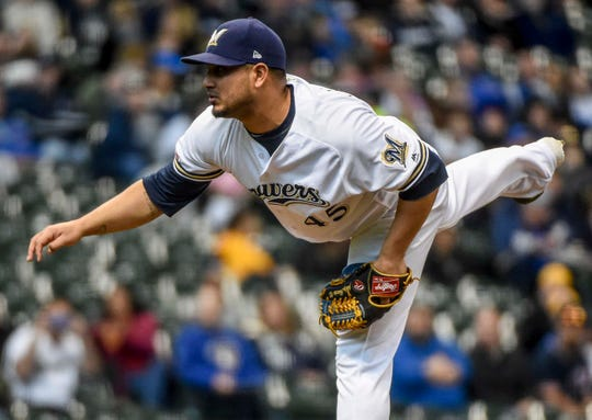 Jhoulys Chacin should return to the starting rotation soon.