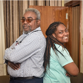 Truly GramFam: Father and daughter to graduate GSU minutes apart