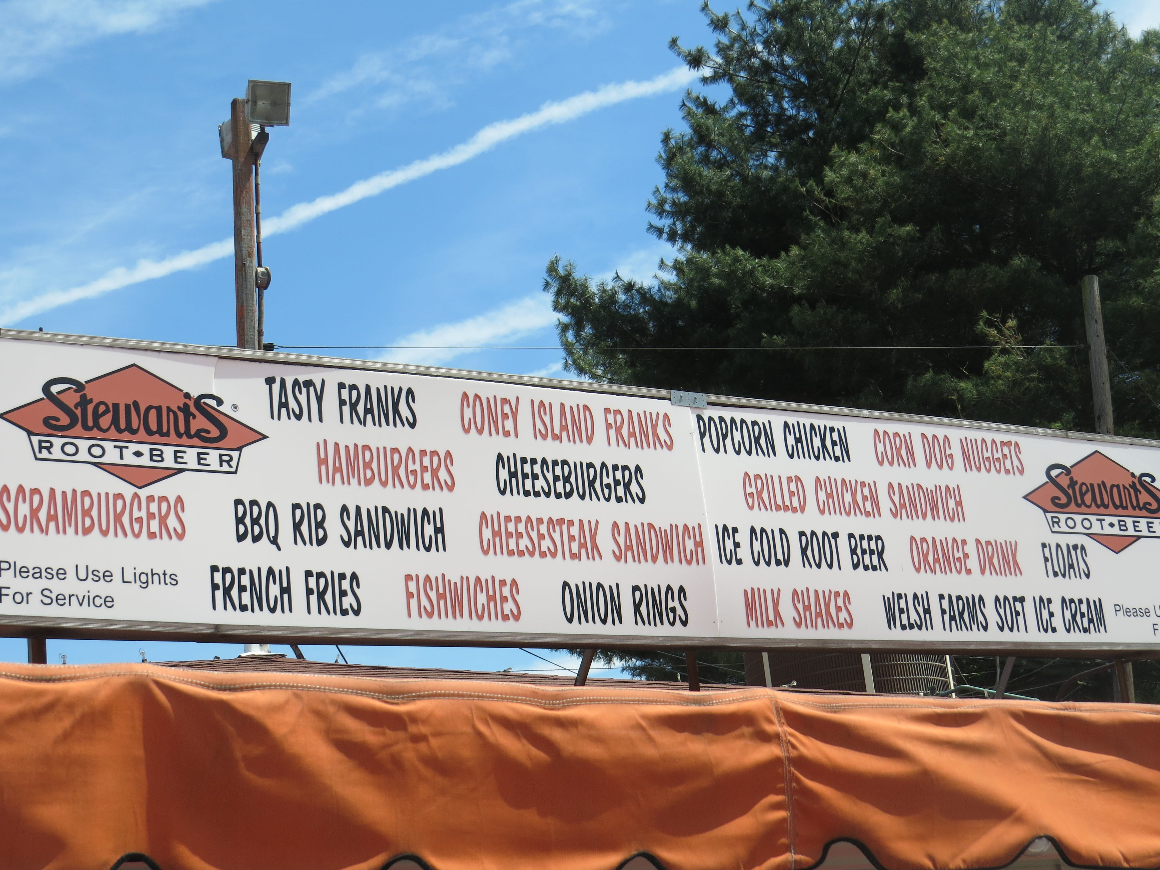 After being closed for all of 2018, the Stewart's Drive-in on Route 46 in Rockaway Township - known as Stewart's of Dover - has reopened for the 2019 season. May 7, 2019.