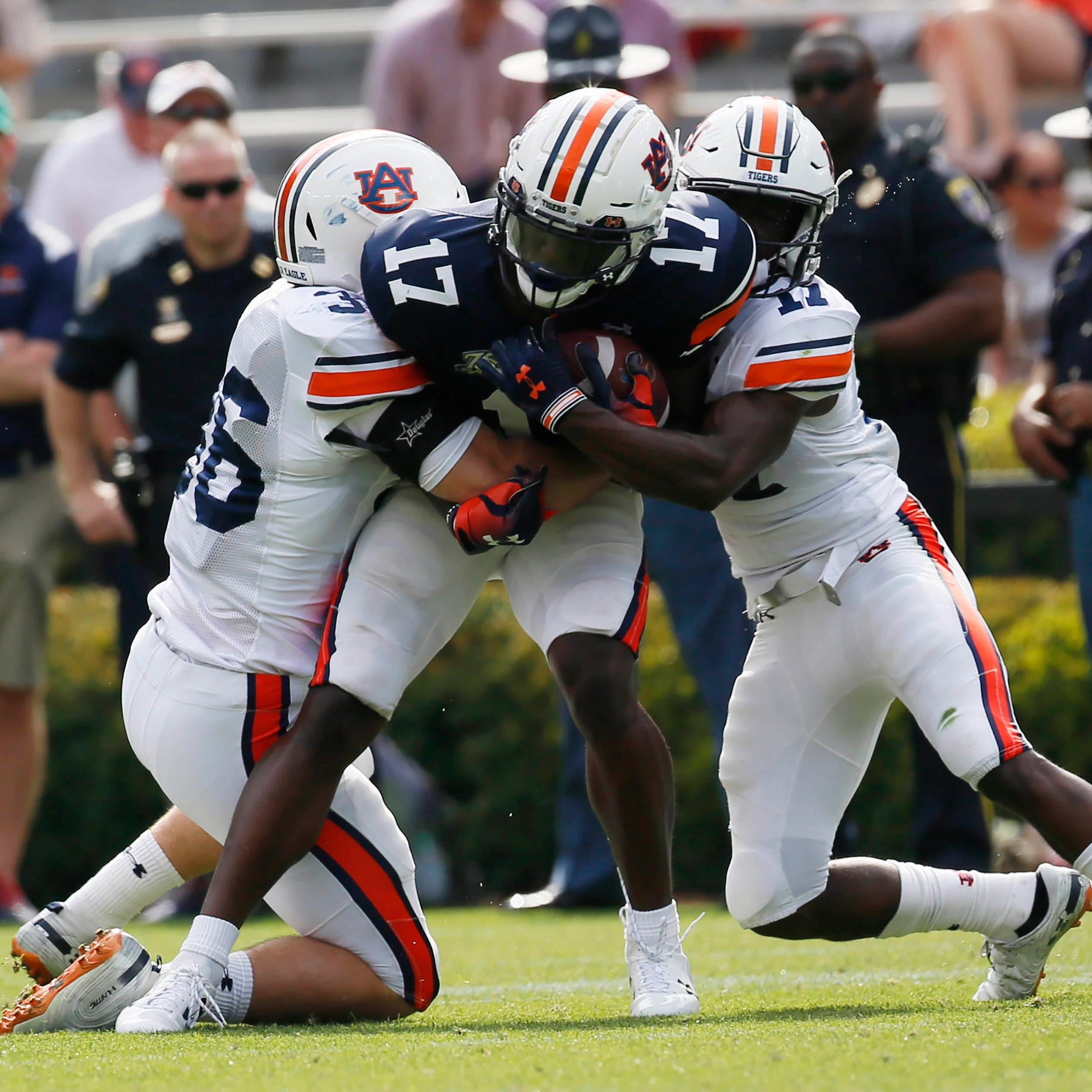 'I want the ball': Auburn wide receiver Marquis McClain determined to make 2019 his year