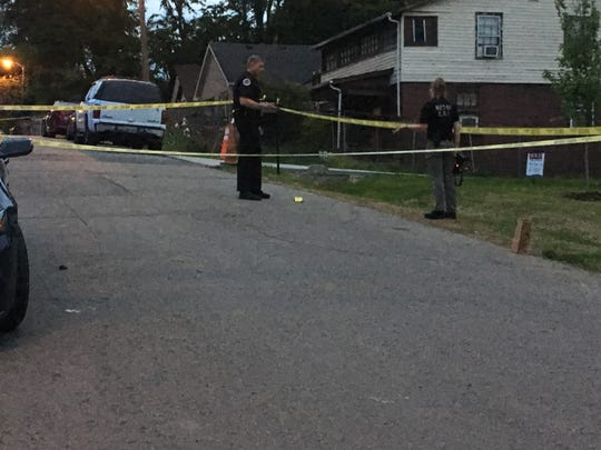 MNPD is investigating fatal shooting at  a residence in the 1800 block of Glade Street off Trinity Lane on Monday evening.