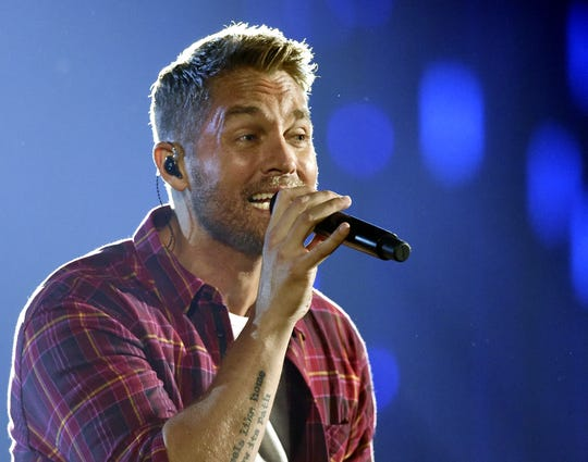 Brett Young, with Boyz II Men, is a nominee for the 2019 CMT Music Awards' CMT Performance of the Year.