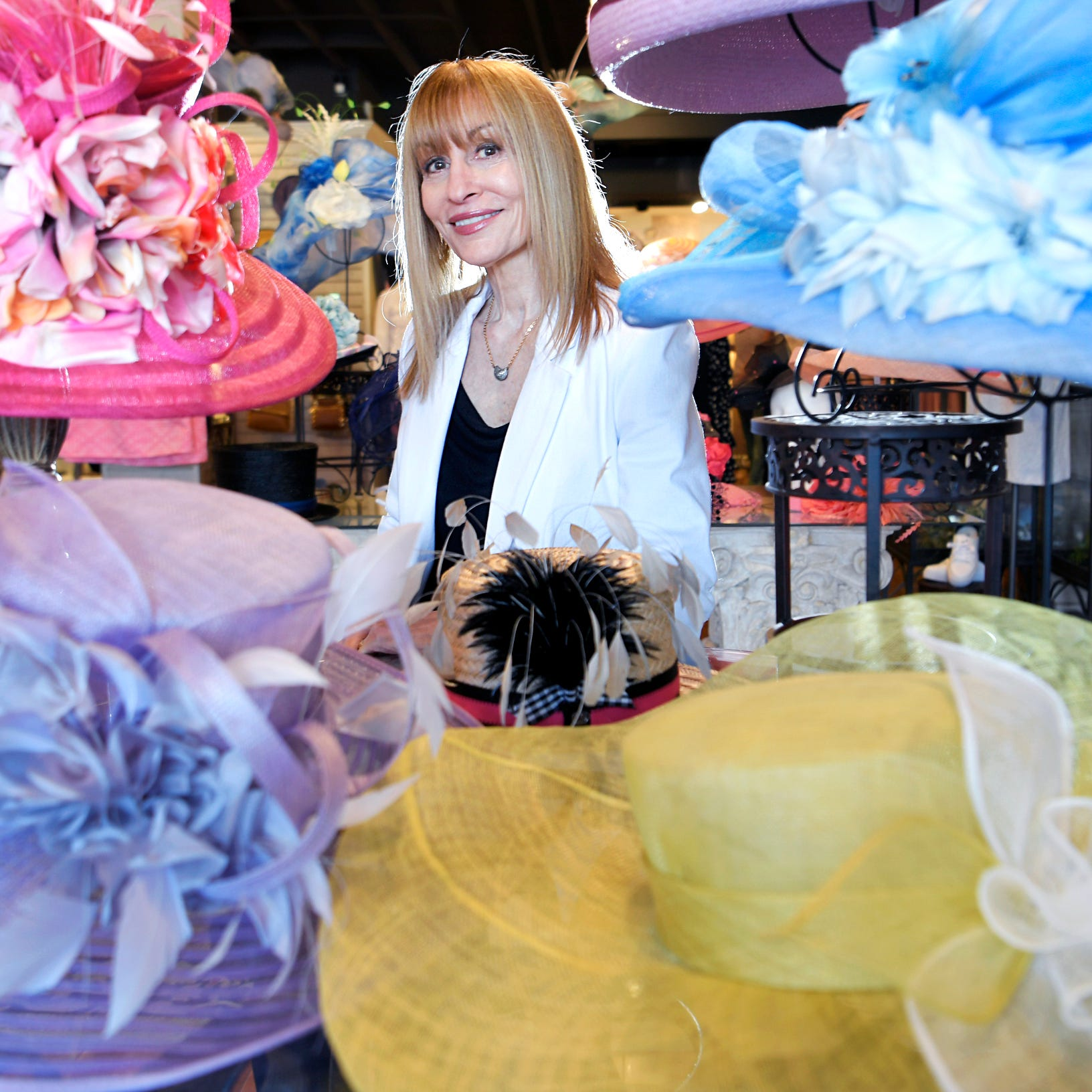 What does a $769 hat look like? Meet the boutique owner behind Steeplechase's most exotic hats