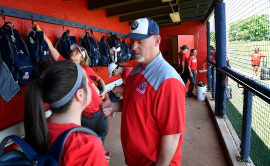 Belmont softball coach Brian Levin sees a lot of similarities in his past life with the Army and coaching softball at Belmont.