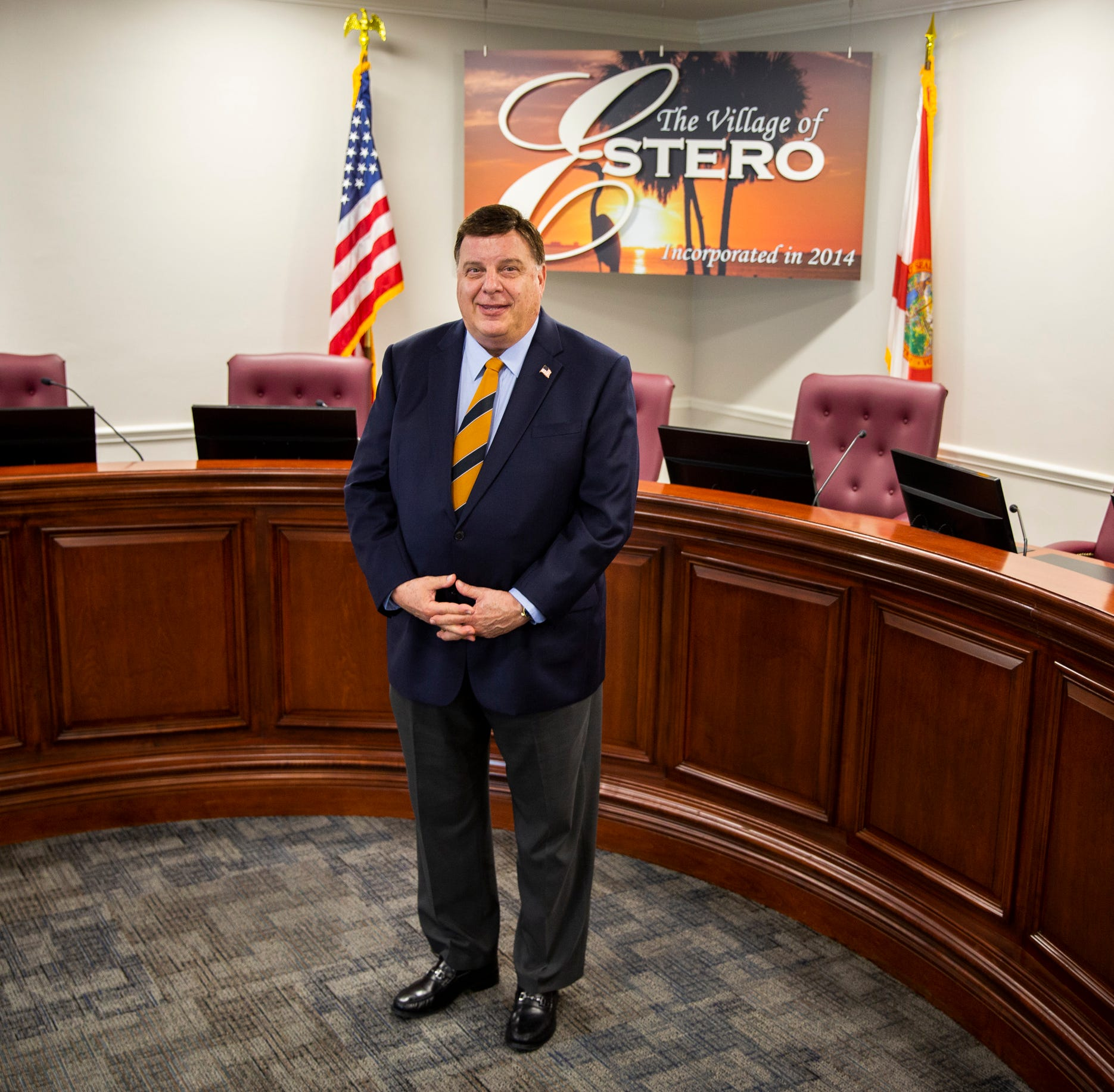 From UPS executive to mayor of Estero: Bill Ribble lands new gig after retirement