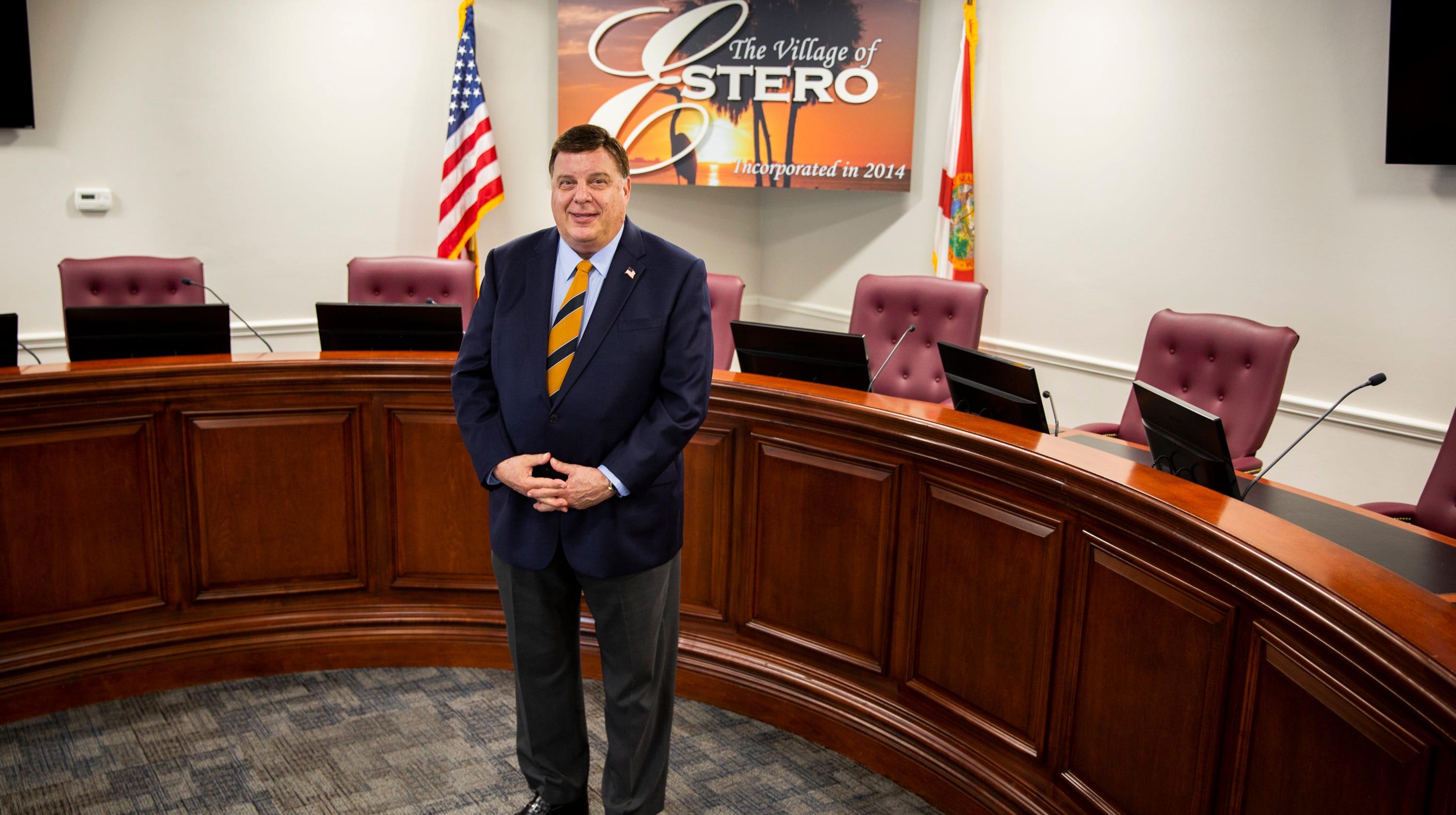 Former UPS Executive Bill Ribble Serving As Mayor Of Estero