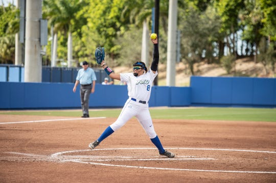 FGCU's Riley Randolph has starred for the Eagles for four seasons, going into the ASUN tournament at home.