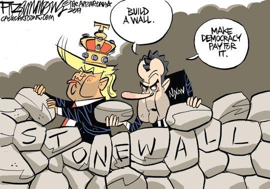 trump, nixon stonewall