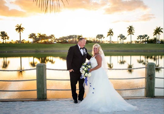 Residents David and Susan Freshman's daughter, Betsy and Dennis Westphal were married at Naples Reserve.