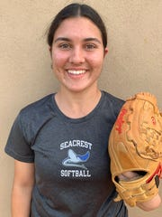 Annabelle Melo, Seacrest softball