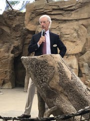 Denny Glass, chairman of the Naples Zoo at Caribbean Gardens, talks about the importance of tourism marketing in Collier County on May 7, 2019.