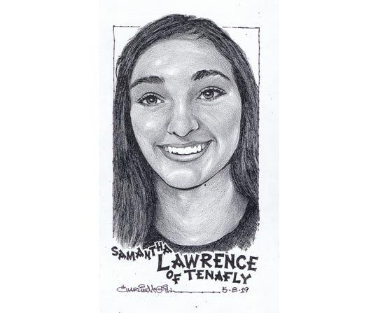 Samantha Lawrence, Tenafly softball