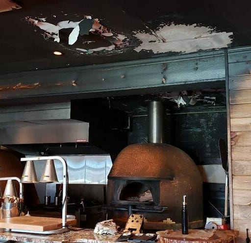 Kitchen fire closes Vesta Wood Fired Pizza & Bar in East Rutherford
