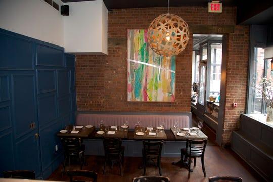 Anthony David's dining room