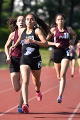 Day one of the Passaic County Track and Field Championships were held at Wayne Hills High School on Tuesday, May 7, 2019. Nancy Habib of Passaic Tech won the 1600 meter finals.
