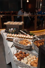 Some sweets at brunch at Montclair Social Club