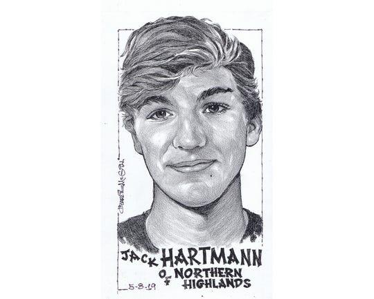 Jack Hartmann, Northern Highlands golf