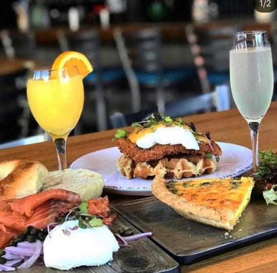 Mr. Crabby's brunch dishes