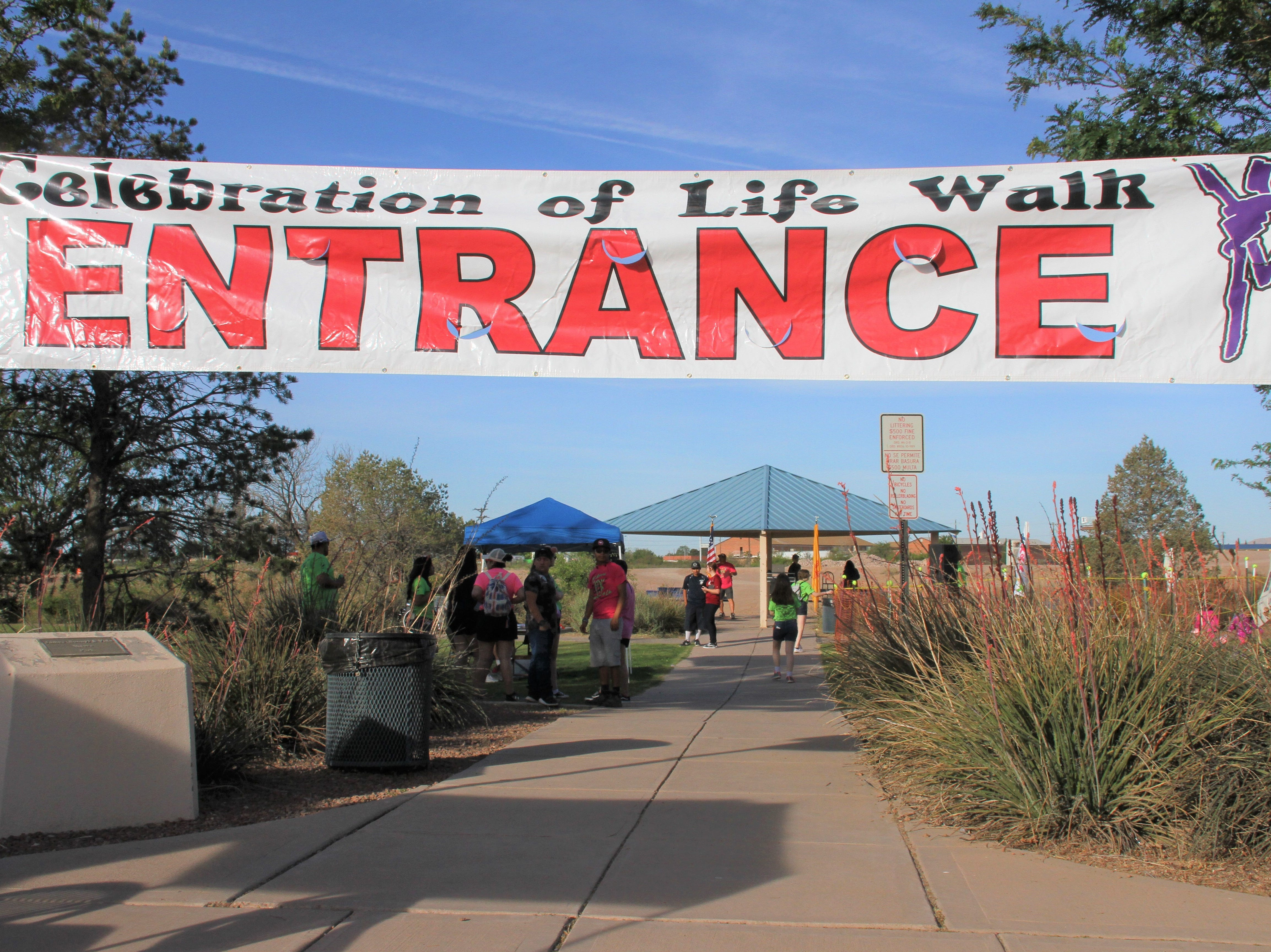 The 14th annual Celebration of Life Walk