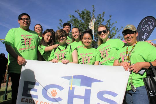 Early College High School in the mix of teams showing support for the 14th annual Celebration of Life.