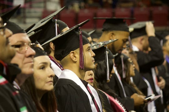 Commencement ceremonies will be held Friday, May 10, at 6 p.m. for doctoral hooding and on Saturday, May 11, at 9 a.m. and 2 p.m. for bachelor's and master's degrees.