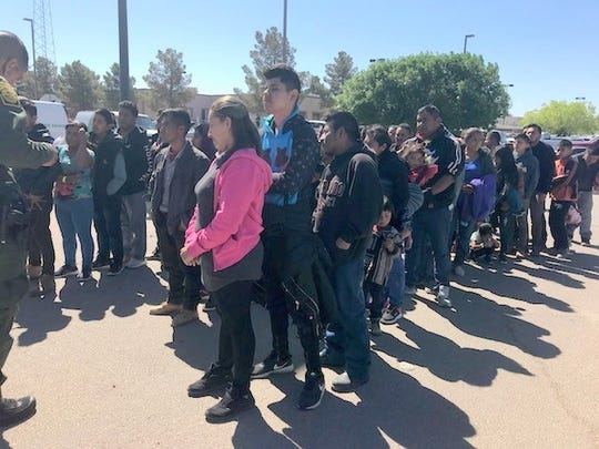 On Thursday morning another large group was apprehended in Antelope Wells with a total of 209 illegal aliens. This bringing the total to three large groups, and over 670 illegal aliens being apprehended by Border Patrol within 24 hours.