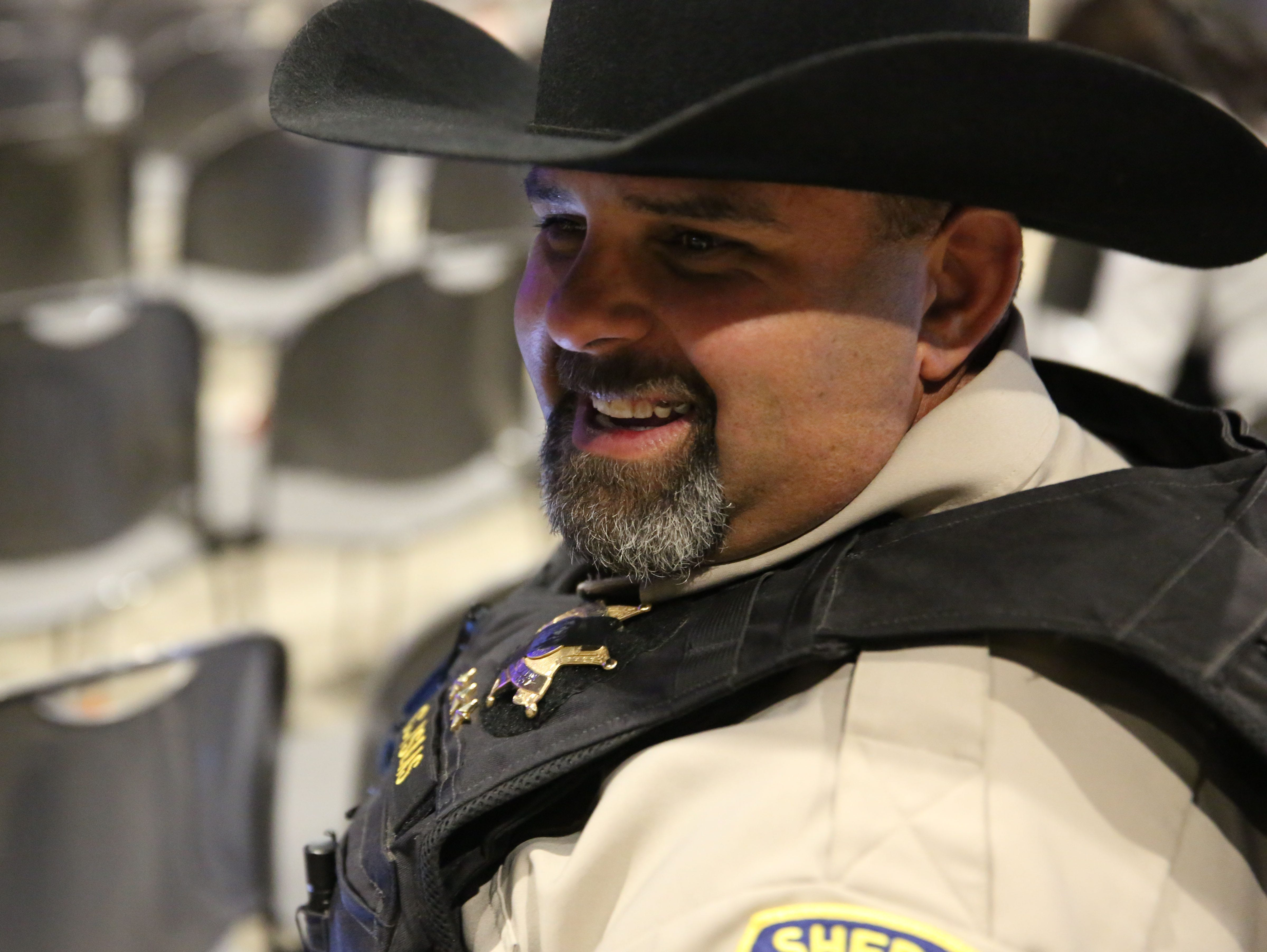 Chaves County Chief Deputy Charles Ysales, whose been a law enforcement officer for 21 years, said being a police officer was what he always wanted to do.