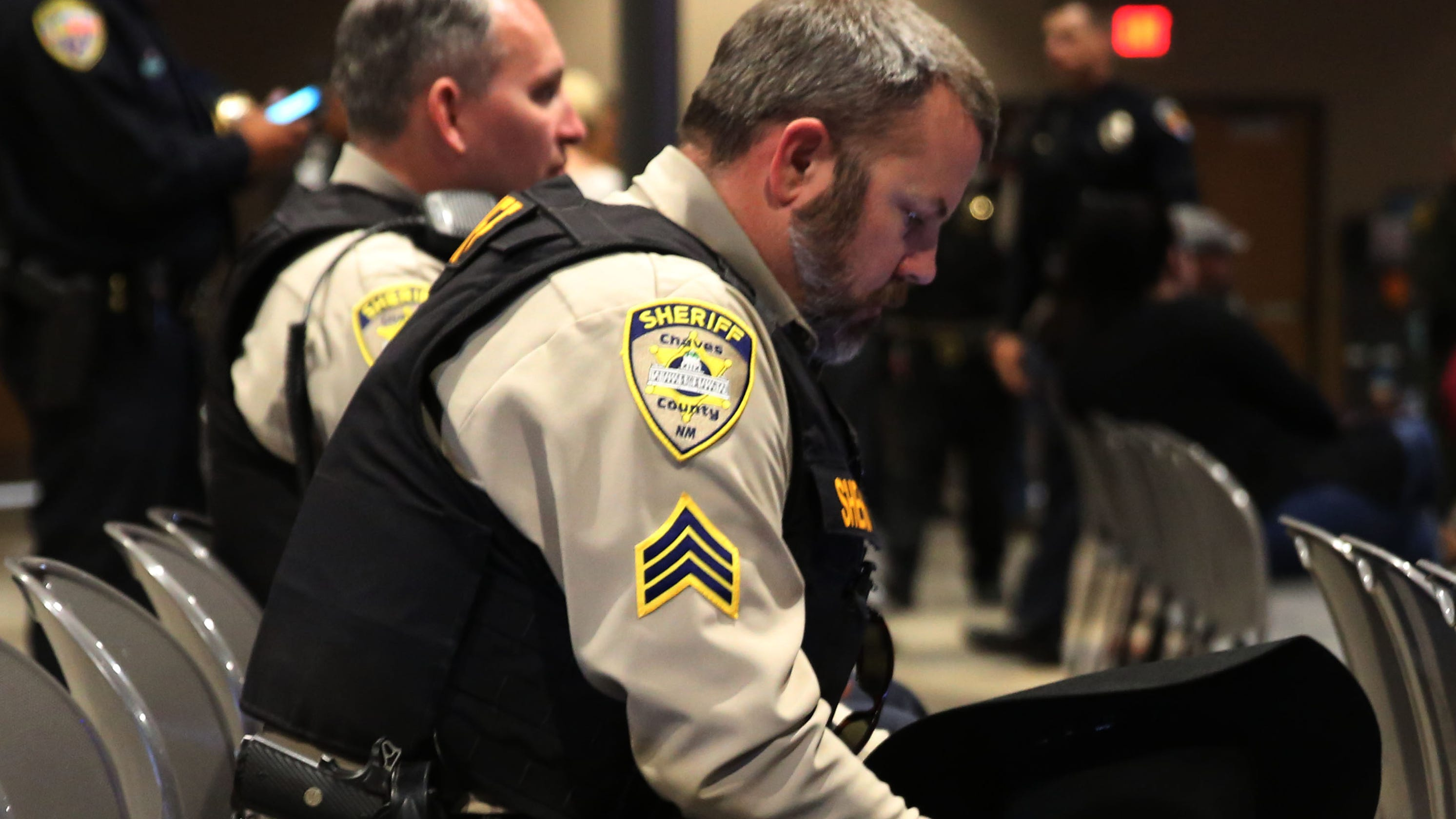 Southern New Mexico Law Enforcement Officers Gather To