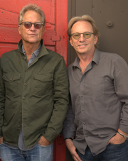Gerry Beckley (left) and Dewey Bunnell lead America into Fantasy Springs Resort Casino.