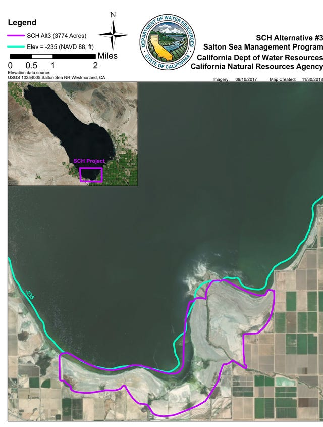 Salton Sea deal reached  California's largest water body may finally
