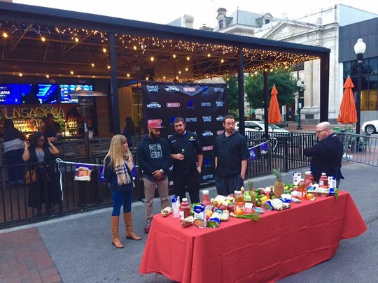 """Culinary Fight Club Pensacola hosted the """"Sip + Bite"""" competition in February at World of Beer in Pensacola."""