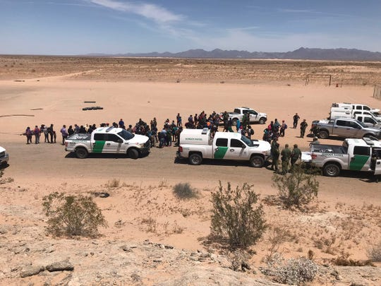 More than 140 undocumented migrants from Central America were found in Arizona east of San Luis in recent days. On Monday, 700 more migrants were found by Border Patrol agents in southwest Arizona, officials said.